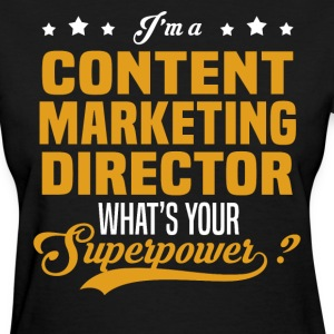 Content Marketing Director - Women's T-Shirt