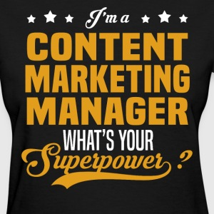 Content Marketing Manager - Women's T-Shirt