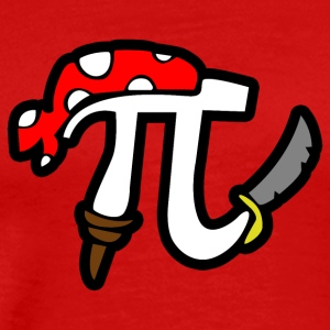 Pi Pirate - Men's Premium T-Shirt