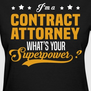 Contract Attorney - Women's T-Shirt