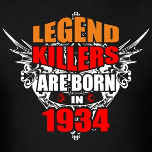 Legend Killers are Born in 1934 - Men's T-Shirt