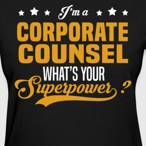 Corporate Counsel - Women's T-Shirt