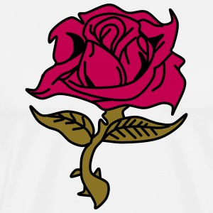 Red Rose - Men's Premium T-Shirt