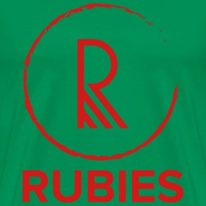 Rubies - Men's Premium T-Shirt