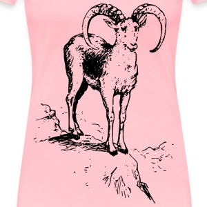 Wild sheep 1 - Women's Premium T-Shirt