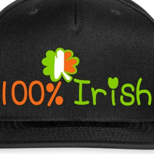 ♥ټ☘I'm 100% Irish Stylish Snapback Hat☘ټ - Snap-back Baseball Cap
