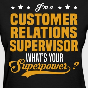 Customer Relations Supervisor - Women's T-Shirt