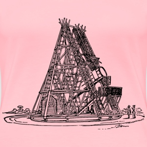 William Herschel s telescope - Women's Premium T-Shirt