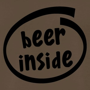 beer inside (1819A) - Men's Premium T-Shirt