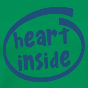 1810C heart inside - Men's Premium T-Shirt