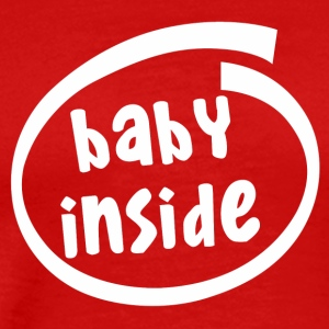 baby inside (1811B) - Men's Premium T-Shirt