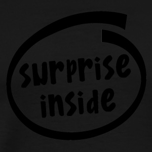 surprise inside (1824A) - Men's Premium T-Shirt