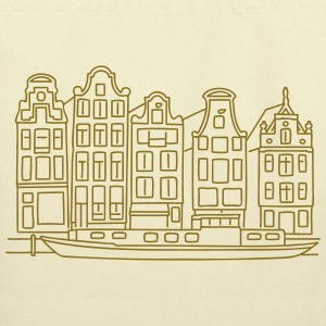 Amsterdam Canal houses Bags & backpacks - Eco-Friendly Cotton Tote
