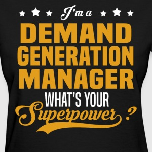 Demand Generation Manager - Women's T-Shirt