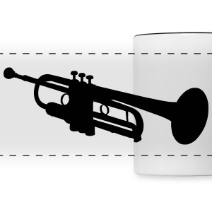 Trumpet Mugs & Drinkware - Panoramic Mug