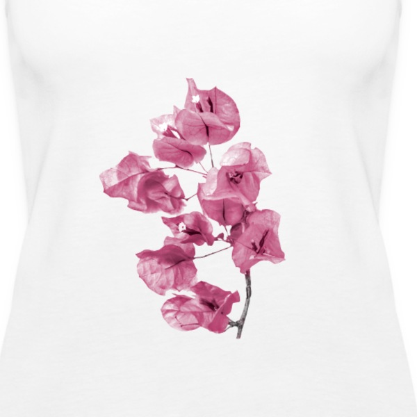 Santa Rita Flowers Photo - Women's Premium Tank Top