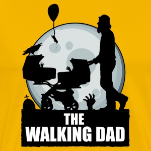 THE WALKING DAD zombie T-Shirts - Men's Premium T-Shirt