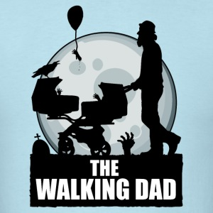 THE WALKING DAD zombie T-Shirts - Men's T-Shirt