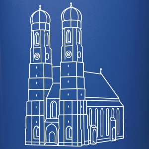 Munich Frauenkirche Mugs & Drinkware - Full Color Mug