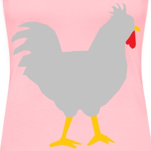 Rooster refixed - Women's Premium T-Shirt