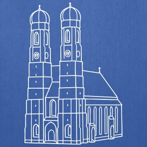 Munich Frauenkirche Bags & backpacks - Tote Bag