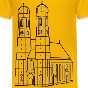 Munich Frauenkirche Baby & Toddler Shirts - Toddler Premium T-Shirt