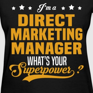 Direct Marketing Manager - Women's T-Shirt