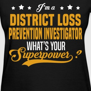 District Loss Prevention Investigator - Women's T-Shirt