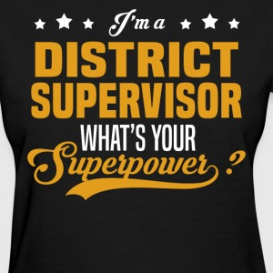District Supervisor - Women's T-Shirt