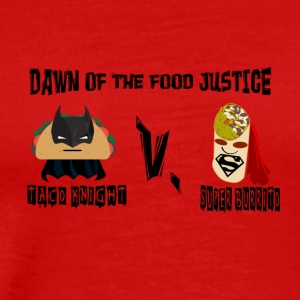 TACO KNIGHT VS SUPER BURRITO - Men's Premium T-Shirt