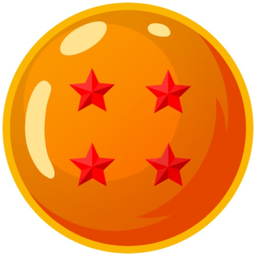 (DB) Dragonballs - 4 Star