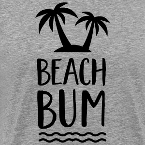 Beach Bum | Palm Trees | Water T-Shirts - Men's Premium T-Shirt