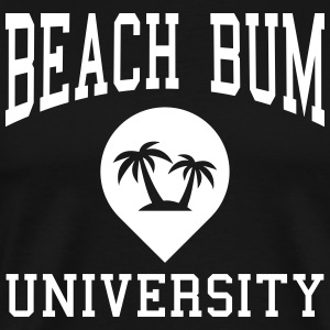 Beach Bum University T-Shirts - Men's Premium T-Shirt