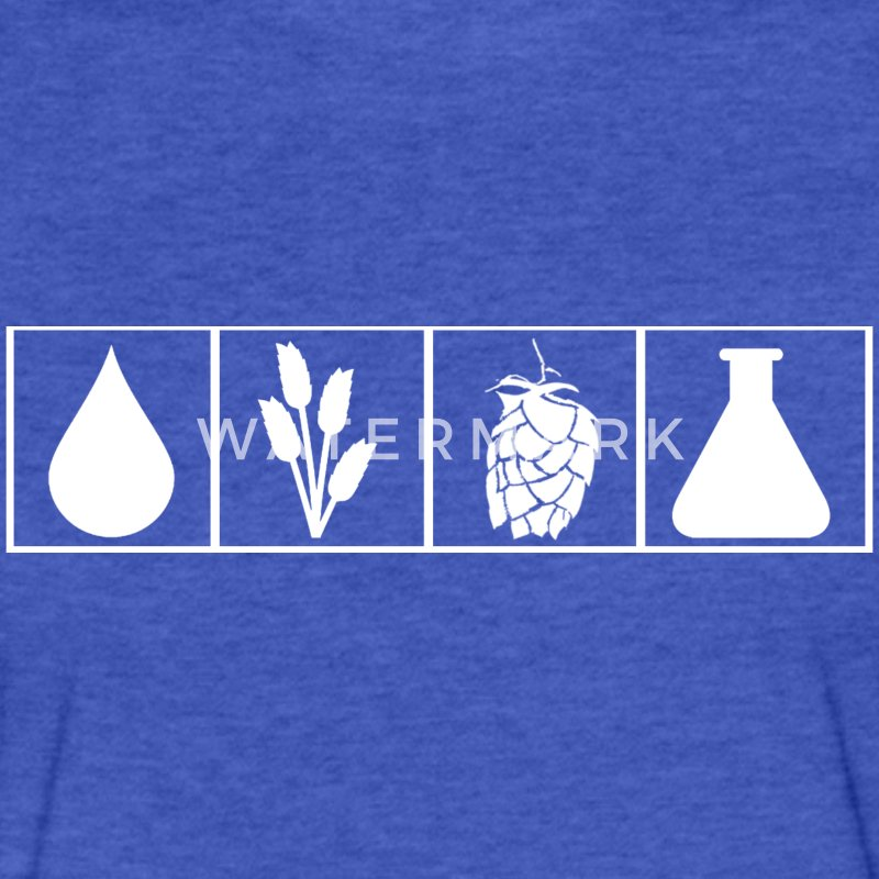 Brew Science - Fitted Cotton/Poly T-Shirt by Next Level