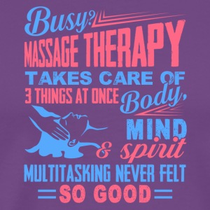 Massage Therapist Tee Shirt - Men's Premium T-Shirt