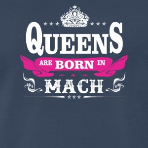 birthday march queen are born in march - Men's Premium T-Shirt
