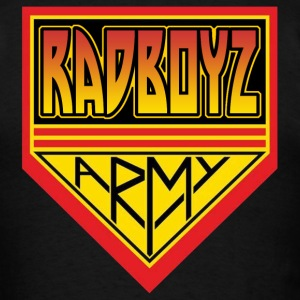 RadBoyz Army Double Logo - Men's T-Shirt