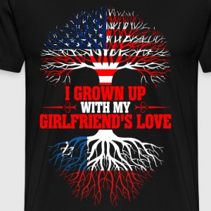 American Grown Up With My Chilean Girlfriends  T-Shirts - Men's Premium T-Shirt