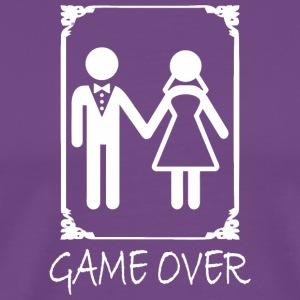 Game Over Gamer - Men's Premium T-Shirt
