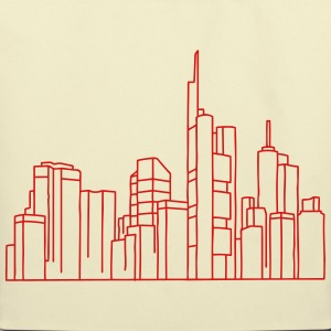 Skyline of Frankfurt Bags & backpacks - Eco-Friendly Cotton Tote