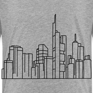 Skyline of Frankfurt Baby & Toddler Shirts - Toddler Premium T-Shirt