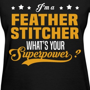 Feather Stitcher - Women's T-Shirt