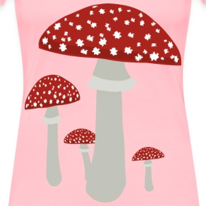 Mushrooms 4 - Women's Premium T-Shirt