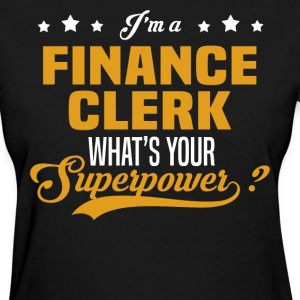 Finance Clerk - Women's T-Shirt