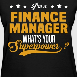 Finance Manager - Women's T-Shirt