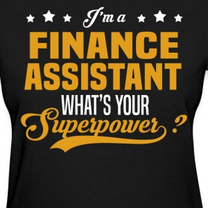 Finance Assistant - Women's T-Shirt