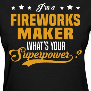 Fireworks Maker - Women's T-Shirt