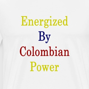 energized_by_colombian_power_ T-Shirts - Men's Premium T-Shirt