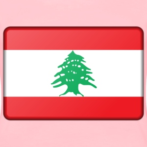 Lebanon flag (bevelled) - Women's Premium T-Shirt