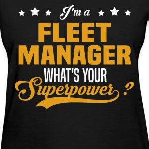 Fleet Manager - Women's T-Shirt